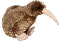 Brown Kiwi w/Sound 18cm