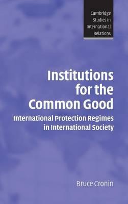 Cambridge Studies in International Relations: Series Number 93 by Bruce Cronin