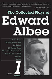 The Collected Plays of Edward Albee 1958-65 by Edward Albee