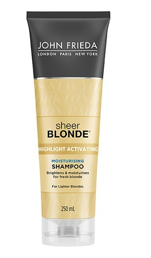 John Frieda Sheer Blonde Moisturising Shampoo - Lighter Shades (250ml) image