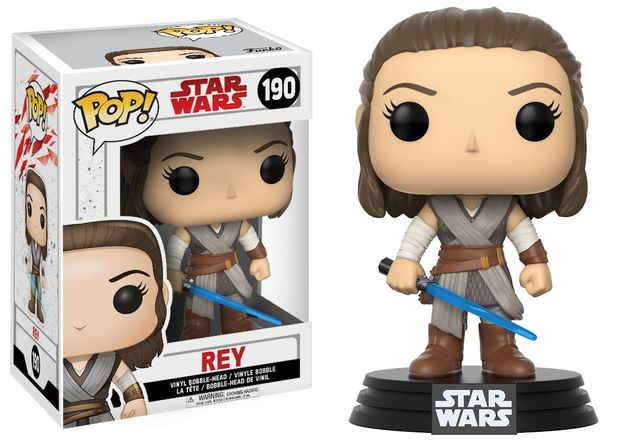 Star Wars: The Last Jedi - Rey Pop! Vinyl Figure