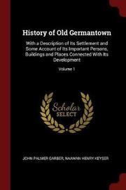 History of Old Germantown by John Palmer Garber image