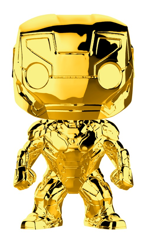 Marvel Studios - Iron Man Gold Chrome Pop! Vinyl Figure
