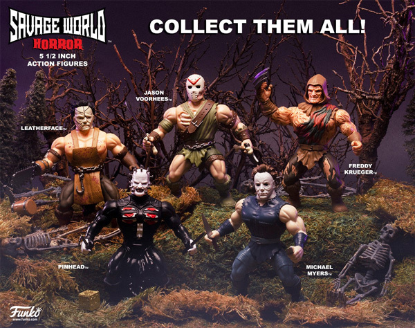 "Savage World: Freddy Krueger - 5"" Action Figure image"