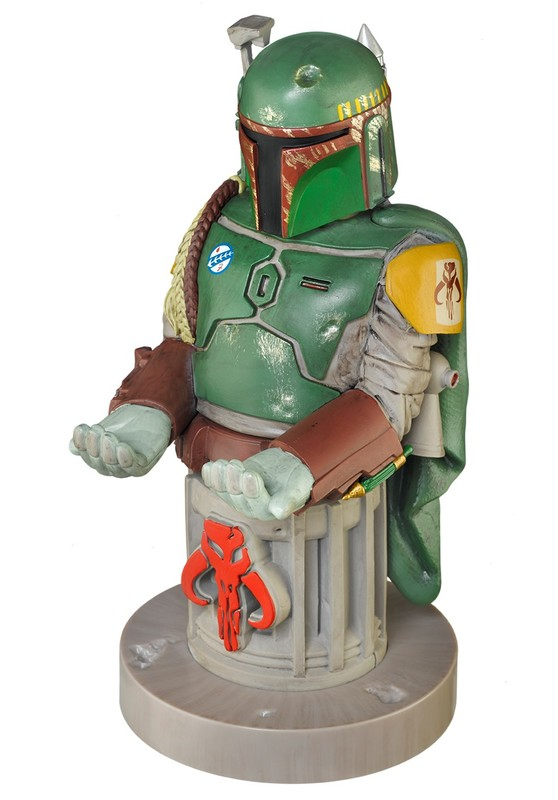 Cable Guy Controller Holder - Boba Fett on Plinth for PS4