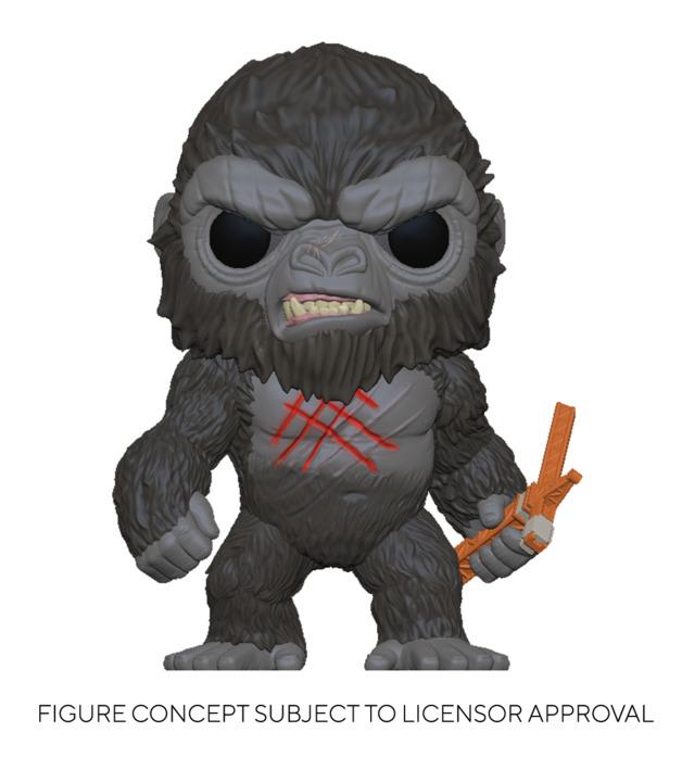 Godzilla vs Kong: Kong (Battle Worn) - Pop! Vinyl Figure