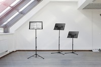 Portable Sheet Music Stand - Black