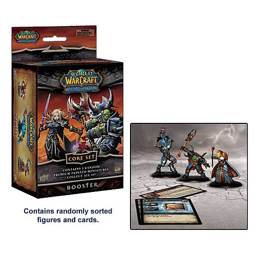 World of Warcraft Miniatures Core Set Booster image