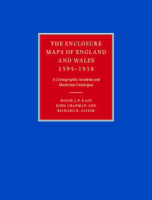The Enclosure Maps of England and Wales 1595-1918 by Roger J.P. Kain image