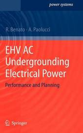 EHV AC Undergrounding Electrical Power by Roberto Benato image