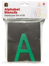 EC Colours - Uppercase Alphabet Stencil Set - Pack of 26