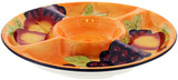 Tuscan Fruits Chip & Dip 34cm Gift Boxed