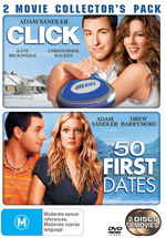 Click / 50 First Dates - 2 Movie Collector's Pack (2 Disc Set) on DVD