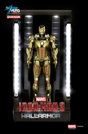 Marvel: Hall of Armour (Mark XXI) - Vignette Model Kit