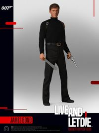 "James Bond: Live and Let Die - James Bond (Moore) - 12"" Articulated Figure image"