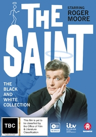 The Saint - The Black And White Collection on DVD