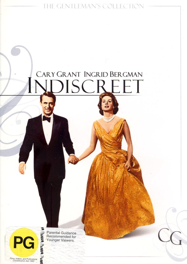 Indiscreet on DVD image