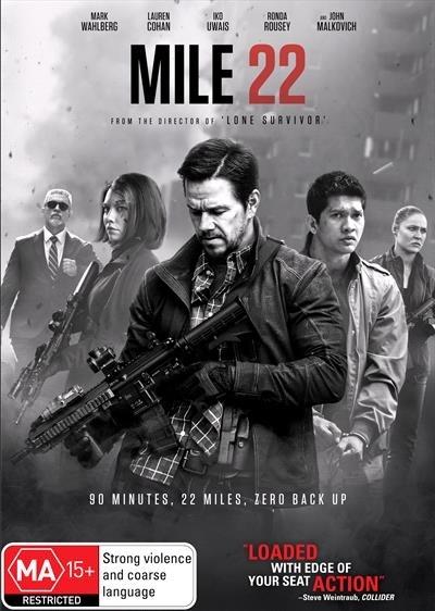 Mile 22 on DVD