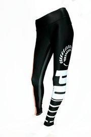 Puma: Silver Ferns Training Tights Black/Peach(Large)