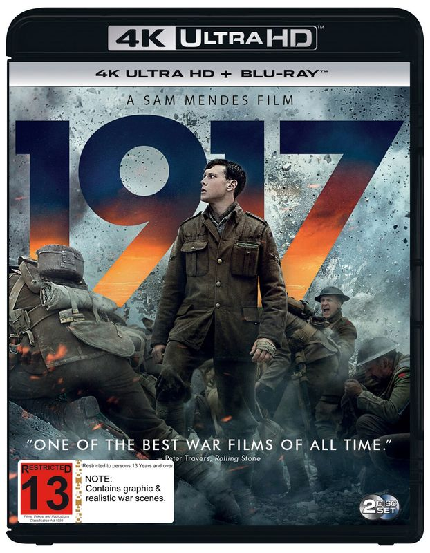 1917 (4K Ultra HD Blu-ray) on UHD Blu-ray