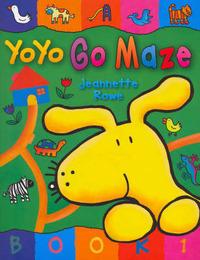 Yoyo: Go Maze by Jeanette Rowe image