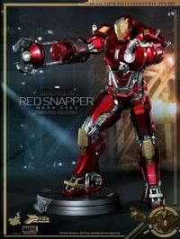 Marvel Iron Man 3 Mark 35 Red Snapper Action Figure