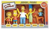 Simpsons Family Bendable Figures (5 Pack)
