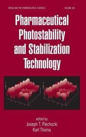Pharmaceutical Photostability and Stabilization Technology image