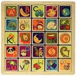 Battat: B. Alphabetic Magnetic - Puzzle Plank