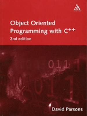 Object-Oriented Programming with C++ by David Parsons image