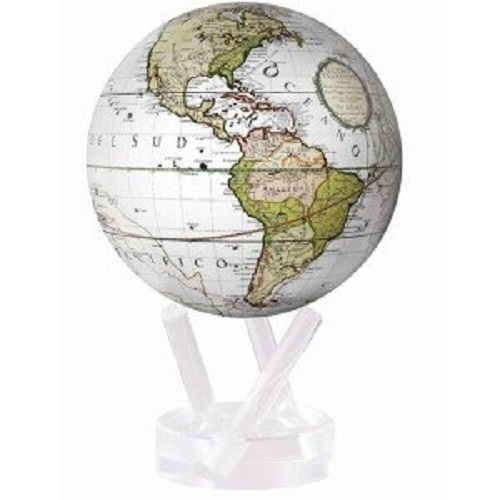 MOVA Self Rotating Globe Cassina Terrestrial - 11.5cm