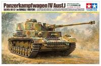 Tamiya: 1/16 Panzerkampfwagen IV Ausf.J (with Single Motor) - Model Kit