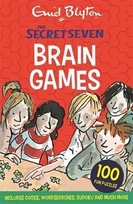 Secret Seven: Secret Seven Brain Games by Enid Blyton image