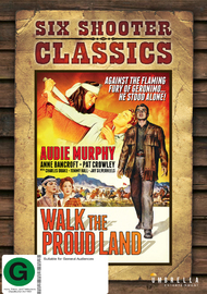 Walk The Proud Land (Six Shooter Classics) on DVD