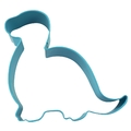 Brontosaurus Baby Cookie Cutter - Blue (11.5cm)