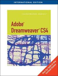 Adobe Dreamweaver Cs4 by Sherry Bishop image