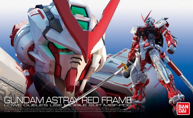 RG 1/144 Gundam Astray Red Frame - Model Kit