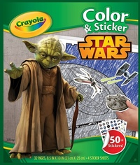 Crayola: Colour & Sticker Book – Star Wars
