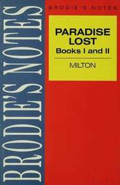 Milton: Paradise Lost by Ray Wilkinson image