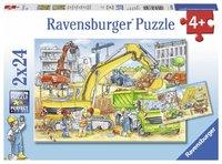 Ravensburger: Hard at Work - 2x24pc Puzzle