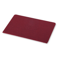 Moleskine Medium Postal Notebook - Cranberry Red image