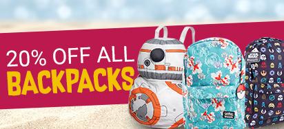 20% Off Backpacks