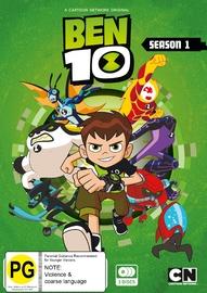 Ben 10 (2016) Season 1 on DVD