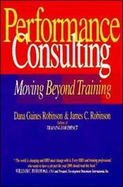 Performance Consulting by Dana Gaines Robinson image