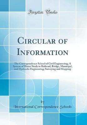 Circular of Information by International Correspondence Schools image
