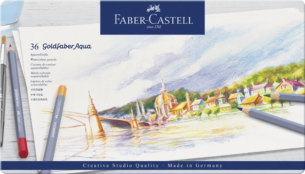 Faber-Castell: Goldfaber Aqua (Tin of 36)