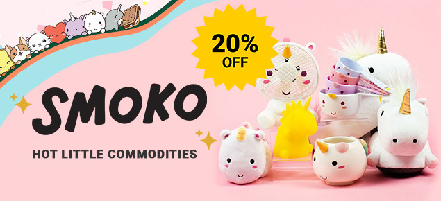 20% off Smoko Inc.!