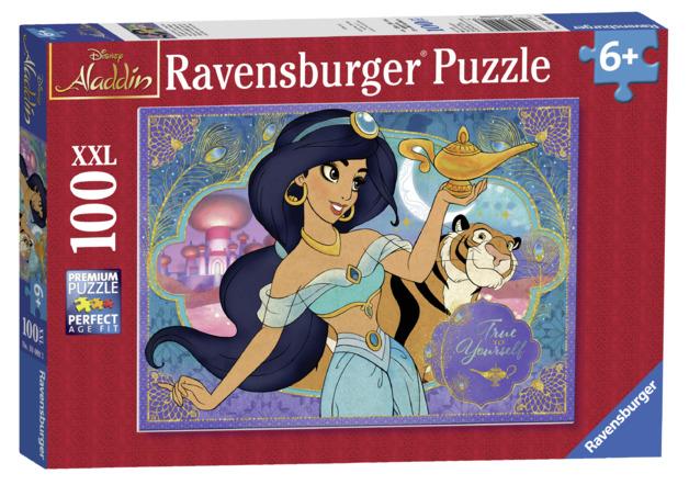 Ravensburger: 100 Piece Giant Puzzle - Aladdin (Princess Jasmine)