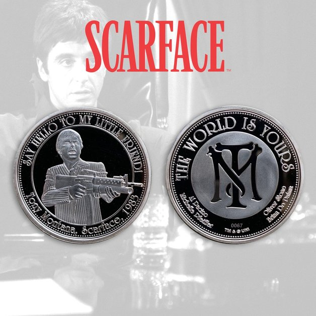 Scarface: Collectable Coin - The World Is Yours
