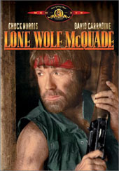 Lone Wolf McQuade on DVD